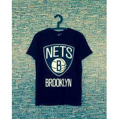 New BROOKLYN NETS T-SHIRT nba obey supra
