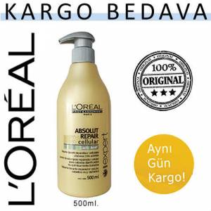 Loreal-Absolut-Repair-�ampuan- 500ml HIZLI KARGO