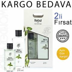 Rebul Kolonya Green Tea  270 ml + Du� Jeli 200ml
