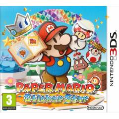 PAPER MARIO STICKER STAR 3DS PAL SIFIR