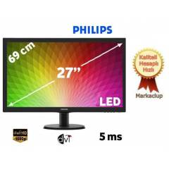 "Philips 273V5LSB/01 27"" 5ms Full HD LED Monit�r"