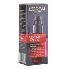 LOREAL REVITALIFT LAZER X3 SERUM 30ML. | HIZLI