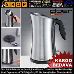 Cloer 4709 Mat �elik Su Is�t�c�s� Kettle Geldi