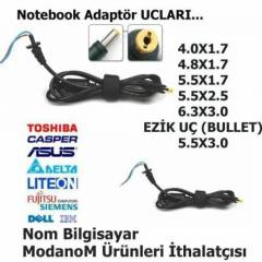 HP 5.5x2.5 L T�P� LAPTOP ADAPT�R KABLOSU