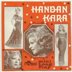 HANDAN KARA Mini Long Play  2.el 45 L�K PLAK