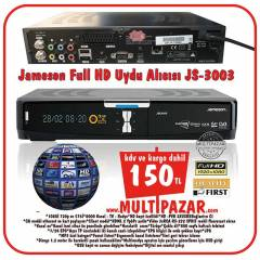 JAMESON JS-3003 FULL HD-3D UYDU ALICISI CC CAM