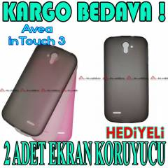 Avea in Touch 3 K�l�f TPU Silikon - HED�YEL�