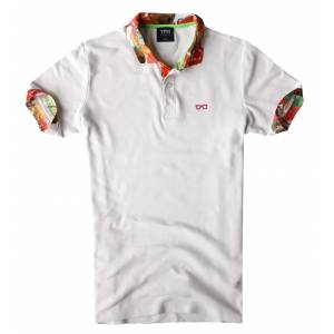 TPM Just For Men Aplike Polo Yaka Trend Tshirt