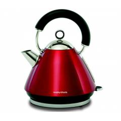 Morphy Richards 43857 Lal K�rm�z� Piramit Kettle