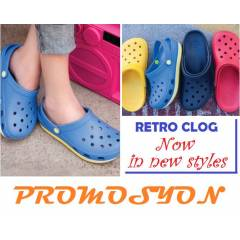 CROCS RETRO Clog UNISEX TERL�K-SON MODEL
