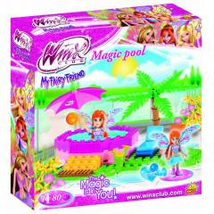 Winx Clup Magic Havuz  Lego 80 Par�a