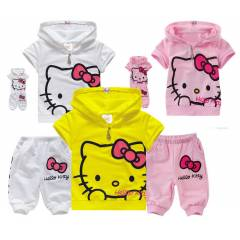 HELLO KITTY 3 RENK, 2'L� KAPR� SET 2-6 YA�
