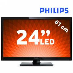 PHILIPS 24PHK4109/12 Uydu Al�c�l� Full HD LED TV