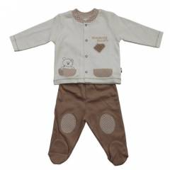 Baby Center 39334 Bisk�vili Patikli Bebek Pantol