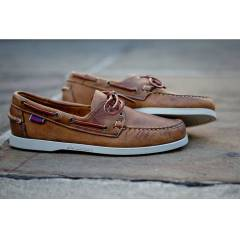 SEBAGO Mens Docksides Classic Shoes Light Brown