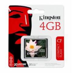 KiNGSTON 4GB COMPACT FLASH HAFIZA KARTI CF/4GB