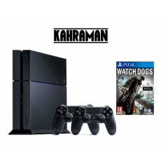 SONY PS4 500 GB+2.KOL+WATCH DOGS+KULAKLIK+HDMI