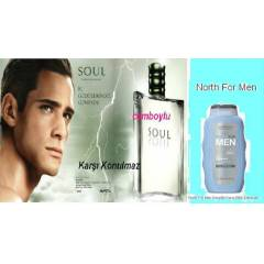 Oriflame SOUL EDT Erkek parf�m� �AMPUAN HED�YE