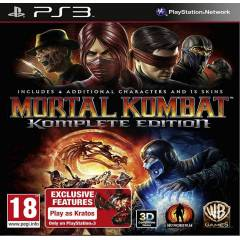 MORTAL KOMBAT KOMPLETE EDITION Ps3 oyun