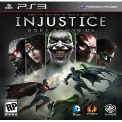 INJUSTICE GODS AMONG US GAME OF THE YE Ps3 oyun