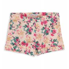Nk K�ds Cicekli K�z Short 002-51012-021
