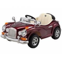 Babyhope JE-128BR Antique Ak�l� Araba 12V Bordo