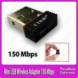 Mini USB Wireless Adapter 150 Mbps Y�ksek �ekim