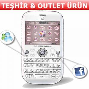 GENERAL MOBILE DST DIAMOND QWERTY
