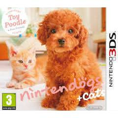NINTENDOGS + CATS TOY POODLE 3DS OYUN