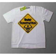 Bonnytoy Under Construction Body Beyaz Tshirt