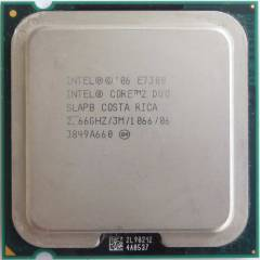 INTEL CORE2 DUO E7300 775 PIN ��LEMC� 1AYGARANT�