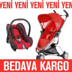 Quinny Zapp Extra Travel Bebek Arabas� Red