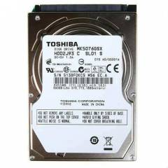"Toshiba 2.5"" 500GB Sata Notebook Harddisk"