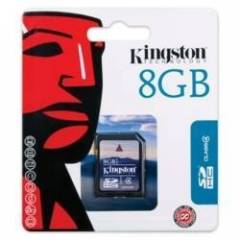 KINGSTON 8 GB SD HAFIZA KARTI SD4 HC