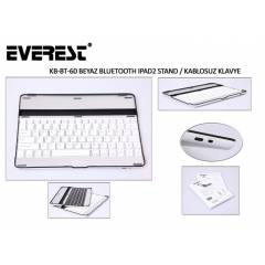 Everest KB-BT60 Beyaz Bluetooth iPad2 Q Multimed