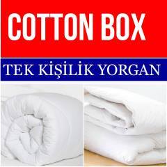 COTTON BOX TEK K���L�K YORGAN-155*215 CM_