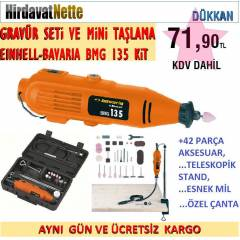 BAVARIA BMG 135 KIT GRAV�R SET� ve M�N� TA�LAMA