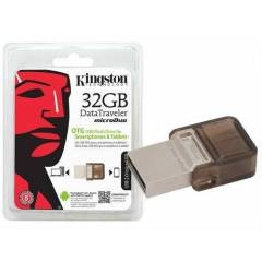 32 GB K�NGSTON DT MicroDuo USB 2.0 FLASH BELLEK