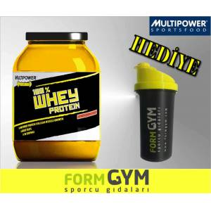 MultiPower %100 Whey Protein 908 g �ilek +HED�YE
