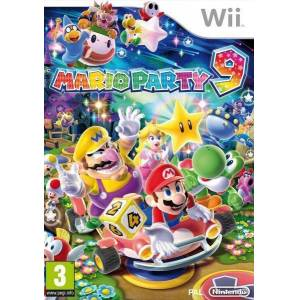 NINTENDO WII MARIO PARTY 9 W�� %100 PAL SIFIR