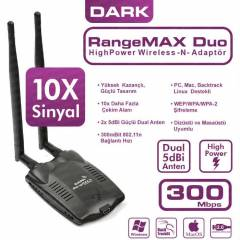 Dark RangeMax 300Mbps Wireless Kablosuz Adapt�r