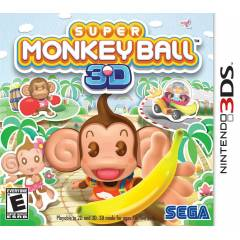 SUPER MONKEYBALL  NINTENDO 3DS OYUN