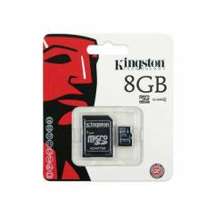 KINGSTON 8GB MicroSDHC HAFIZA KARTI + ADAPT�RL�