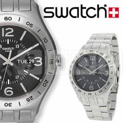 Swatch YTS704G In A Dark Grey Mode Bay Kol Saati