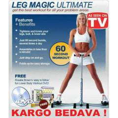 Leg Magic Bel, Basen ve Kal�a Egzersiz Aleti