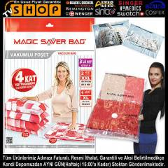 Vakumlu Po�et Magic Saver Bag 3l� Daha B�y�k!