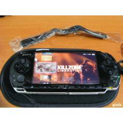 SONY PSP 3004 BLACK +16 GB SLIM + FULL AKSESUAR