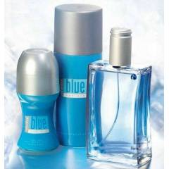 AVON �ND�V�DUAL BLUE ERKEK PARF�M� 3'L� SET