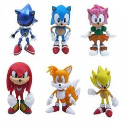 The HEDGEHOG Super Sonic  action figure oyuncak