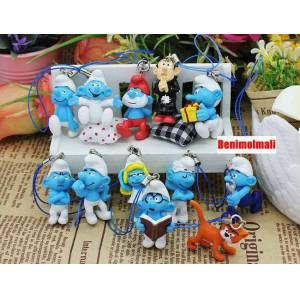 Smurfs �irinler Set action figure telefon s�s�